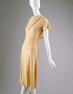 Dress Madeleine Vionnet, 1938 The Metropolitan Museum of Art - OMG that dress!