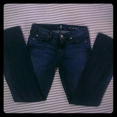 7 for all mankind Jeans Medium wash 'A ' pocket 7 for all Mankind Jeans Boot Cut