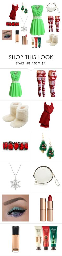 """""""Christmas!"""" by jenn5 on Polyvore featuring M&Co, Vince Camuto, Charlotte Tilbury, MAC Cosmetics and Innisfree"""