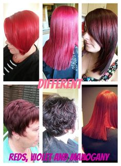 Different Reds etc