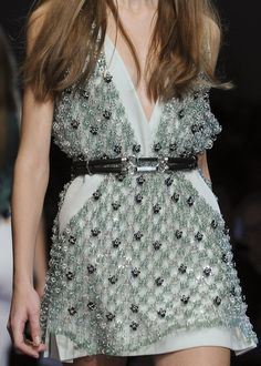 Paco Rabanne S/S 2013 Details. Got to repin, cause I love it so freaking much. Thanks Claudia for discovering it for me.