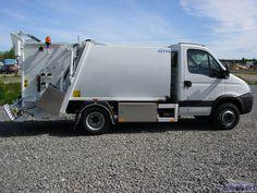 NTM K-Midi mikro śmieciarki na samochody 7ton IVECO DAILY 70C17, small refuse truck, klein Kommunalfahrzeuge, Benne a ordures, Recolectores, piccoli camion, smidiga renhållningsbil
