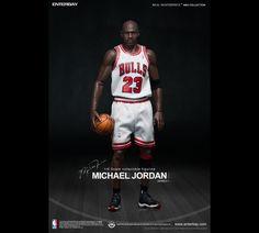 #IamLegend #Legend #HomeJersey #WhiteJersey #Basketball #NBA #MichaelJordan #MJ #23 #NBA #ChicagoBulls #Bulls #Masterpiece #Collection #Figurines #Enterbay #EnterbayUSA #Sculpted #Shorts #BlackSocks #Jordan #FigurineStand