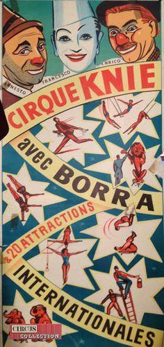 Circus collection: Cirque Knie 1951
