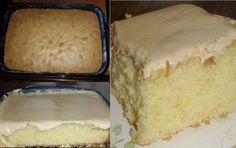 Granny's Old Fashioned Butter Cake with Butter Cream Frosting :http://recipescool.com/grannys-old-fashioned-butter-cake-butter-cream-frosting/