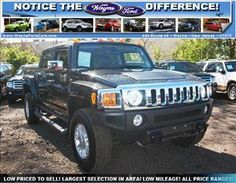 2009 Hummer H3 H3T PICKUP STYLE BODY! THEY DON'T MAKE THESE ANYMORE!! $31,990!! Hummer H1 Alpha, Hummer H3, Jeep, Ford Raptor, Offroad, Vehicles, Car, Things To Sell, Awesome