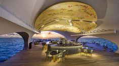 The Whale Bar, Maldives, Interior Design, Architecture, Luxury Holiday, WOW Architects, Beach Getaway, Wanderlust, Architecture