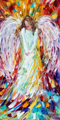 Fine Art Print 12 x 24 from oil painting by Karen Tarlton - Angel of Joy on Etsy, $45. Description from pinterest.com. I searched for this on bing.com/images