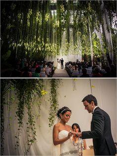 Glam Garden Wedding