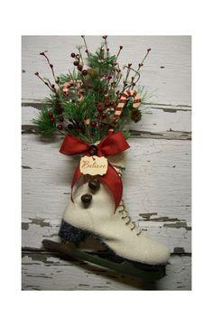 Christmas Ice Skate - Christmas Decor