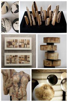 Piezas de arte-objeto hechas en Tres Tierras