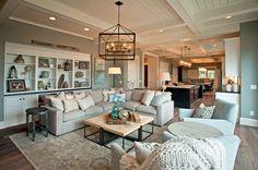 coastal family room | KP Designs and Associates