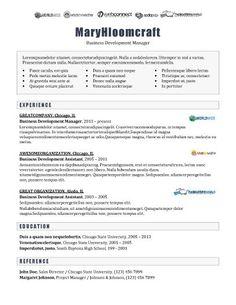 logos resume beaux cv modern logos resume templates samples career