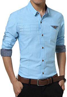 jeansian Men's Fashion Casual Solid Color Slim Fit Shirts... https://www.amazon.com/dp/B01N48LBI8/ref=cm_sw_r_pi_dp_x_Dm-pybZSS1DDV