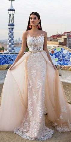 Cheap wedding dress long, Buy Quality wedding dress directly from China bride dresses Suppliers: New Wedding Dresses Long 2017 With Lace Appliques Sheer Scoop Vestido De Noiva Bridal Bride Dress Wedding Gown Robe de Mariage Dresses Elegant, Elegant Wedding Dress, Modest Dresses, Beautiful Dresses, Dress Wedding, Tulle Wedding, Wedding Bride, Sexy Dresses, Gorgeous Dress
