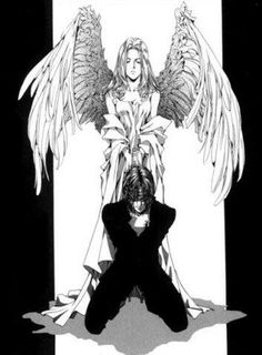 Alucard & Integra, angel, Hellsing