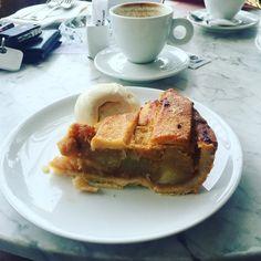 #applepie done right May 7th, Apple Pie, Toast, Breakfast, Instagram Posts, Food, Apple Cobbler, Morning Coffee, Apple Pies