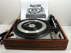 Vintage Working Dual 1219 Automatic Turntable