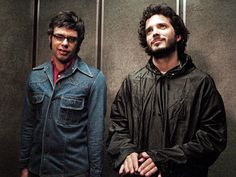 jemaine clement flight of the conchords - with Bret McKenzie