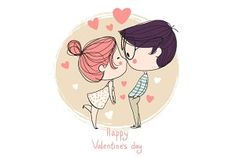 See a rich collection of Illustrations/Clip-Art images, photos or vectors for any project. Explore quality Illustrations/Clip-Art pictures, illustrations from top photographers. Chibi Couple, Couple Cartoon, Girl Cartoon, Valentines Illustration, Couple Illustration, Valentines Day Drawing, Valentine Day Love, Dibujos Cute, Cute Drawings