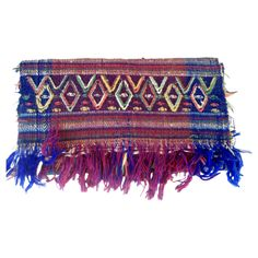 SOLD Colorful Woven Throw #huntersalley