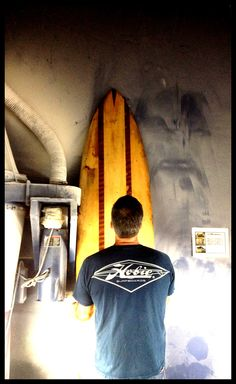 Hobie History: Mark Johnson Replicates One of Hobie Alter's First Ten Boards