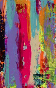 """Saatchi Art Artist: Marie Starro; Acrylic 2013 Painting """"Liquid Mind"""""""
