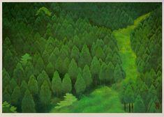 「緑の谷」花背峠を超え・・・なおも奥へ奥へと山路を登っていく