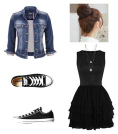 """""""Untitled #11"""" by riasoccer on Polyvore featuring Converse, Vince Camuto, maurices and Pin Show"""