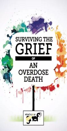 how to manage the complex emotions that come with grieving after a substance related loss