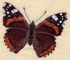 Machine Embroidery Designs at Embroidery Library! - Butterflies