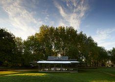 Sean Godsell unveils MPavilion in Melbourne's Queen Victoria Gardens