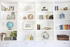 McGee Home Tour, Formal Living Room, Book shelf styling || Studio McGee