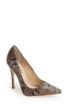 Topshop 'Gallop' Patent Pointy Toe Pump (Women) available at #Nordstrom