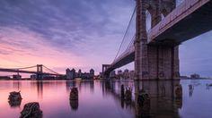 Find out: Purple Sky Brooklyn Bridge wallpaper on  http://hdpicorner.com/purple-sky-brooklyn-bridge/