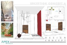 Reception Concept | Storage & Privacy | Atrium Space
