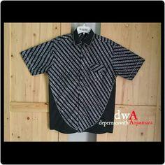 Parang Monochrome Batik for man