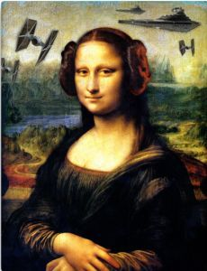 Mona Lisa in Star Wars                                                                                                                                                      More