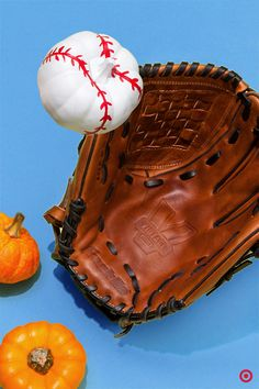 The pumpkin harvest is in full swing. Reflect the season and paint up some DIY pumpkins for some fall classic fun. Softball, Baseball, Pumpkin Contest, Arts And Crafts, Diy Crafts, Diy Pumpkin, Autumn, Fall, Thoughtful Gifts