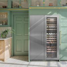 SSDOOR177 | In-Column Wine Cabinets | Caple UK Wine Cabinets, Locker Storage, Kitchens And Bedrooms, Wine Chiller, Sink Taps, White Led Lights, Intelligent Design, Black Glass, White Wine