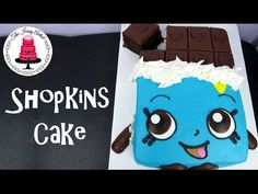 SHOPKINS Cake Cheeky Chocolate - How To With The Icing Artist - YouTube