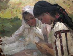 View Young peasant women by Ipolit Strambulescu Strambu on artnet. Browse upcoming and past auction lots by Ipolit Strambulescu Strambu. Vermont, Art Images, Art Gallery, Old Things, Classic, Painting, Inspiration, Reading Time, Matisse