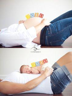 Barriga y bebé