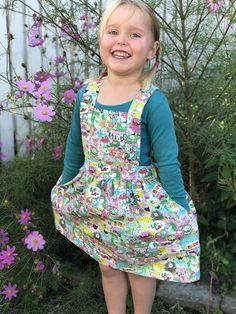 Woodland Pinafore Cute Kids, Woodland, Trending Outfits, Etsy, Vintage, Fashion, Moda, Fashion Styles, Vintage Comics