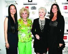 Jennifer Yuh Nelson, Barbara Keller, Shirley Jones, Kim Waltrip
