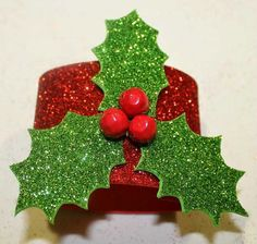 manualidades servilletero navidad