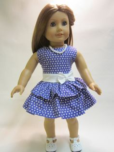 18 inch American Girl Doll Clothes  Easter by IndustriousDog,