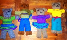 I have been taking a much needed break from my crafty life, and focusing instead on meditation. Of late I have been looking inwards to under. Baby Knitting Patterns, Hand Knitting, Knitting Toys, Mother Bears, Knitted Dolls, Baby Hats, Knit Crochet, Stitch, September 2014
