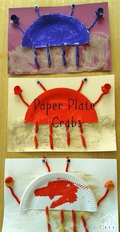 Our cute paper plate and pasta crabs and an ideal sibling under the sea project. Perfect for kids of all ages to do together or a for preschool under the sea theme. Ideal summer project for kids but can be enjoyed all year round. - more at megacutie.co.uk