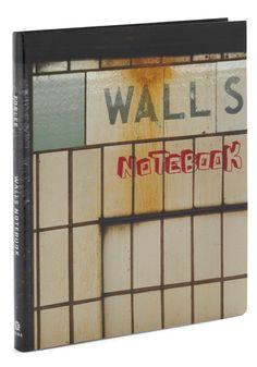 Walls Notebook, #ModCloth